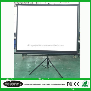 4:3/ 16:9 Tripod Projection Screen with OEM Service