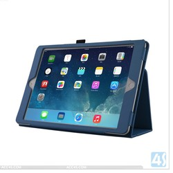 Acc4s 10 inch Blue PU Leather unbreakable protective case for iPad 6 P-APPIPD6PUCA004