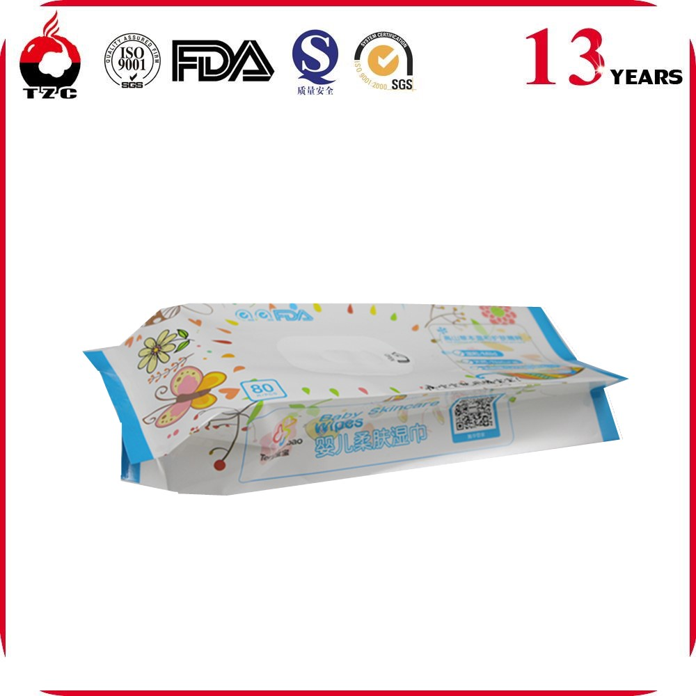 18 year manufacturer Plastic Wet Wipes Packaging Bags