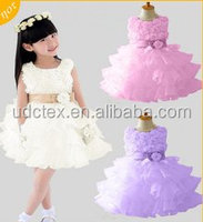 100% Polyester Chiffon Children Wedding Dress Fabric