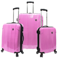 cute cabin and large size girls PC luggage trolley case