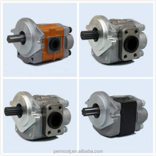 Low noise large flow gear pumps and kayaba gear pumps