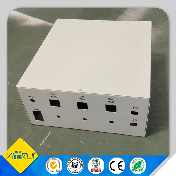 Custom made metal electrical control box cover