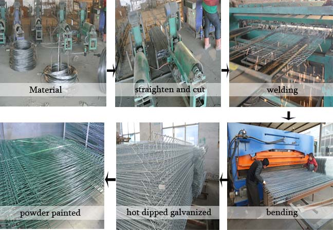 high security fence natural power painted steel safety garden fence alibaba suppliers A.S.O fence factory