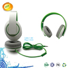 Newest foldable music headset 3.5mm single plug headphone from oem factory