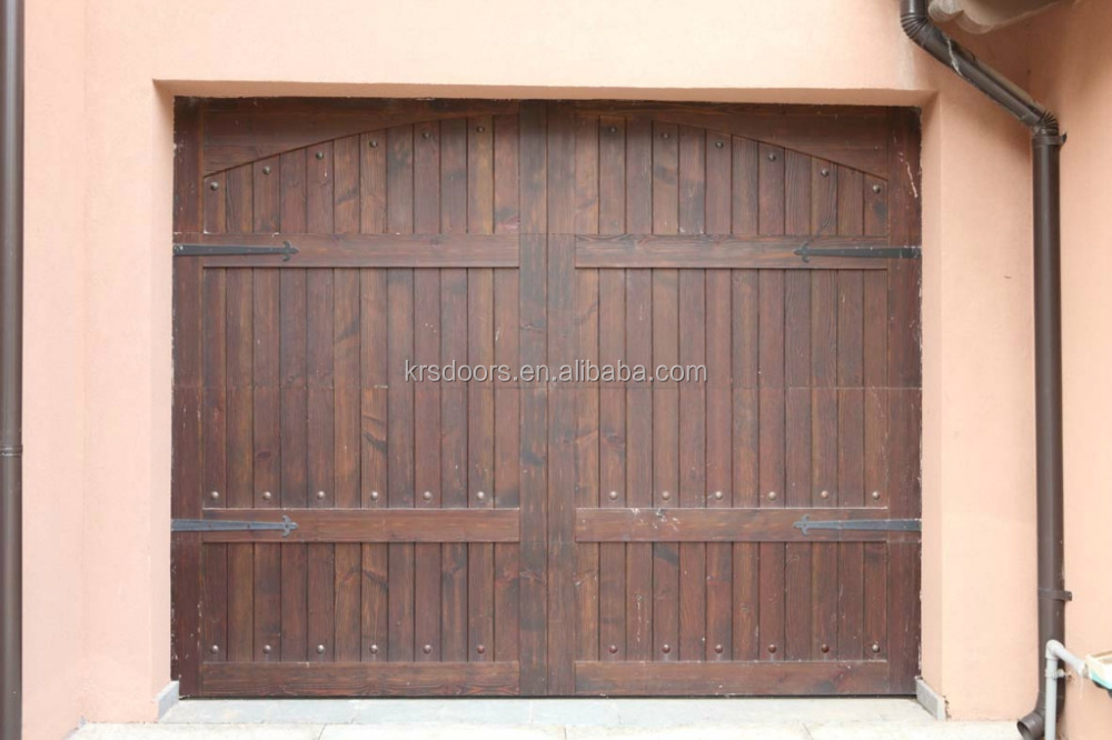 Red Cedar Real Wood Residential Sectional Garage Door