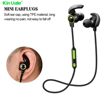 New Stylish oem stereo bluetooth magnetic earbud earphone