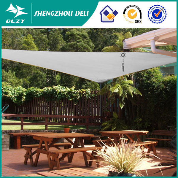 Newest Design Hotel circular eyelet knitting sun shade netting