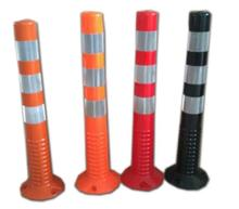 a standard block factory directly sale TPU plastic concrete bollard
