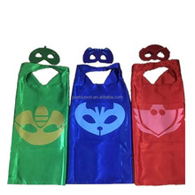 70*70cm two-layers PJ capes and masks