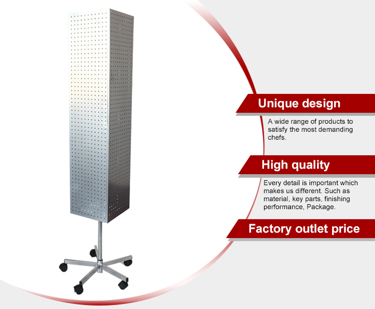 Foshan Supplier Metal Rotating Display Stand