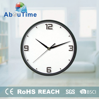 plastic old style rhythm oversized wall clock