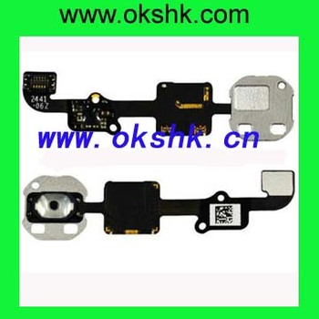High quality Flex cable for iphone 6 Home Button flex