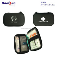 Black EVA waterproof survival kit emergency box for gift Discount merchandise and sport