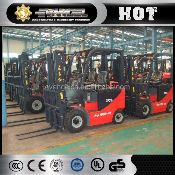 Small Battery Forklift CPD15 made in China