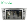 Krando Android 7.1 car dvd radio player for Toyota Camry 2006-2011 car pc multimedia navigation gps wifi Bluetooth dab+ KD-TC811