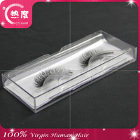plastic case for eyelashes factory wholesale price false eyelashes manufacturer blue box eyelashes