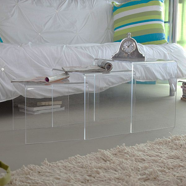 fashion clear Acrylic Computer Table,clear glass computer table