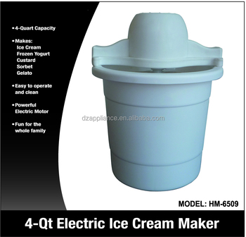 4QT Electric Ice Cream Maker