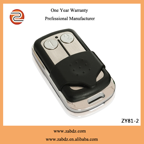 mental and pvc ASK remote control , for anti-theft alarms, motor-driven curtain etc(ZY81-2)