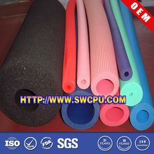 Colorful silicone foam tube for protective