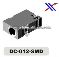 dc power jack sizes dc-012-SMD for pcb,mini dc jack connector socket