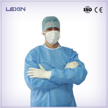 Disposable hospital operation gown