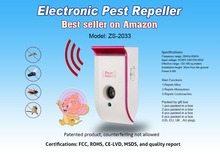 Electronic ultrasonic insect pest repeller best for sale
