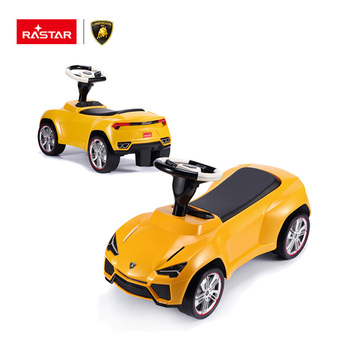 Lamborghini concept car Rastar leather seat baby ride on toy car