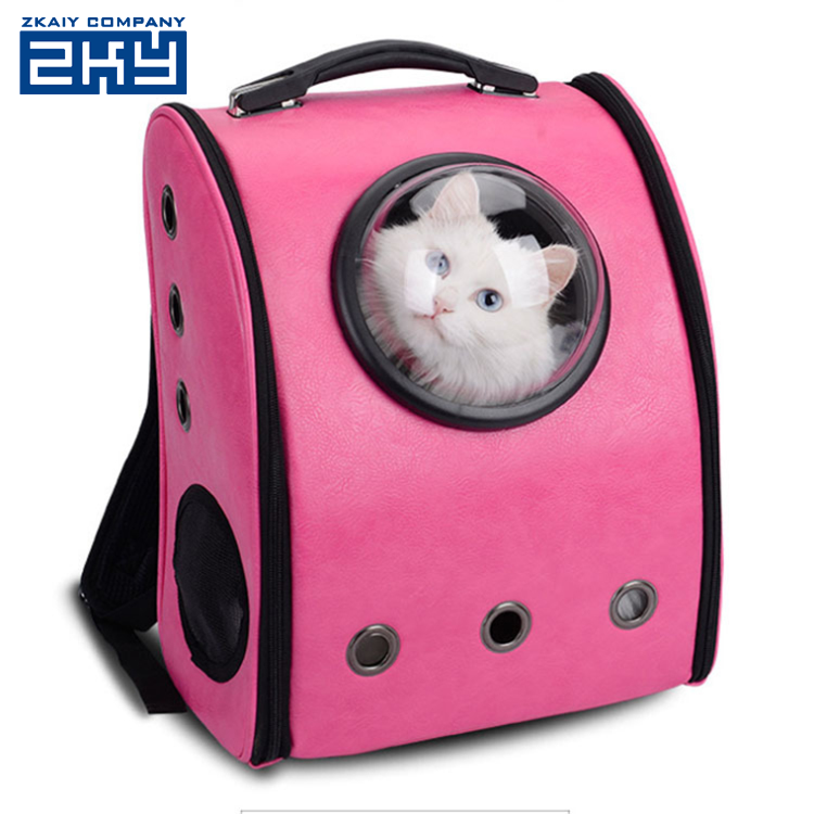 Fashion Durable Fabric Capsule Space Cabin Cat Carry Backpack Dog Pet Carrier Travel Bag