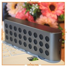 New Multimedia Aluminium Mini Portable Bluetooth Wireless Speaker