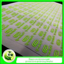 IRON ON REFLECTIVE GARMENT LABEL HEAT TRANSFER STICKERS