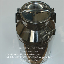 40L Alcohol Can Stainless Steel , Milk Barrel For Dairy Plant