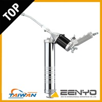 High Quality 400 CC Angle-Free Rotating & Continuous Flow Grease Gun