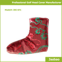 Wholesale Golf Putter Cover With Beautiful Piping
