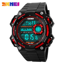 Fashion 2016 skmei newest digit watch LED Backlight sport watches