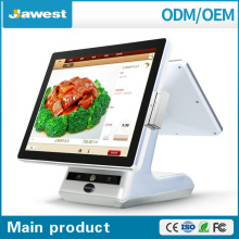 Indoor Application TFT Type android tablet pc 15 inch POS Terminal / Touch Screen POS System all in one ( Factory )