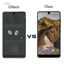 nuglas anti-scratch high transparency 2.5D tempered glass screen protector guard for essential phone