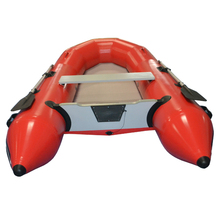 Korea Boats 1.2mm Welded PVC Air Paddle Motorized Inflatable Sailboat Luxury Red Canvas Pro Marine Inflatable Sailing Boat