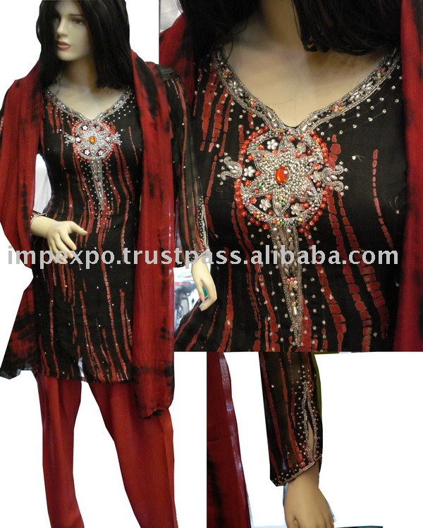 Ladies Shalwar Kameez (Hand Made Gala Taj)