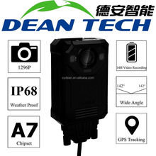 Dean Technology Infrared SOS IP68 Body Worn Camera Video Recorder for Police Security