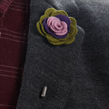 Wholesale cheap brooches and 20 mm long pins flower brooch