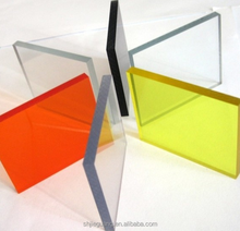 Multi-color plexiglass custom plexiglass acrylic panel for shelving wholesale