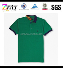 100% Preshrunk Cotton Lycra Seamless Polo T-Shirts