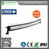 21.5inch 120W Curved LED light bar 40pcs*3W intensity Chip DRCLB120-C