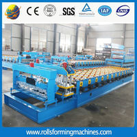 840-900 ibr roll forming machine/roof panel, africa big 6 wave roof panel line