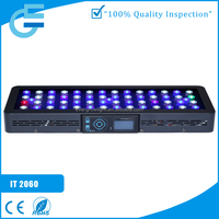 Hot sale 120w dimmable & programable IT2060 marine 12v led light