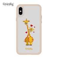 CTUNES Ultra Thin Shockproof For iPhone X Embroidery Case , Mobile Phone Hybrid Case For iphone X