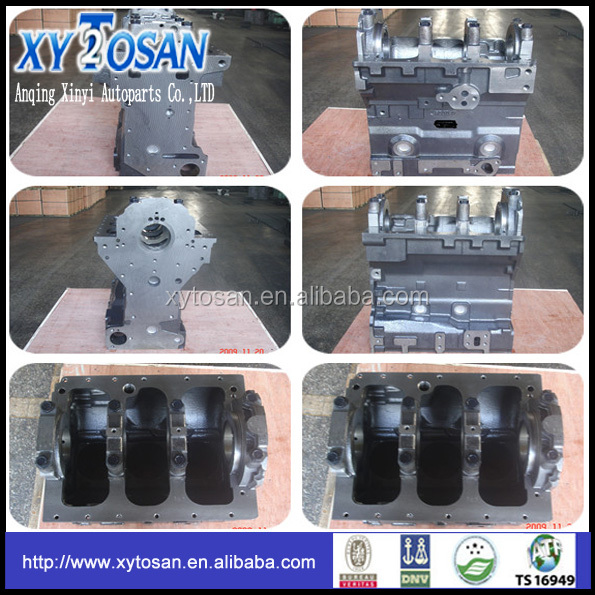 Cylinder block for PERKINS 3.152 MF135 ROPE SEAL