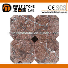 Antique red marble castle brick SLM606-T (Tumbled Samples)